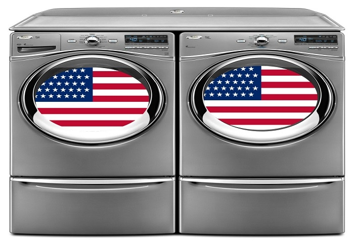 Asciugatrice americana a gas. Made in Usa!